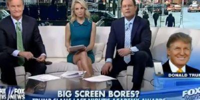 Trump fue entrevistado por el canal republicano Fox. Foto:Fox