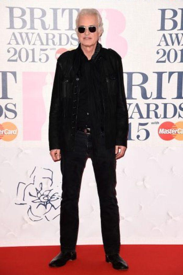 El guitarrista Jimmy Page, integrante de Led Zeppelin Foto:Getty Images