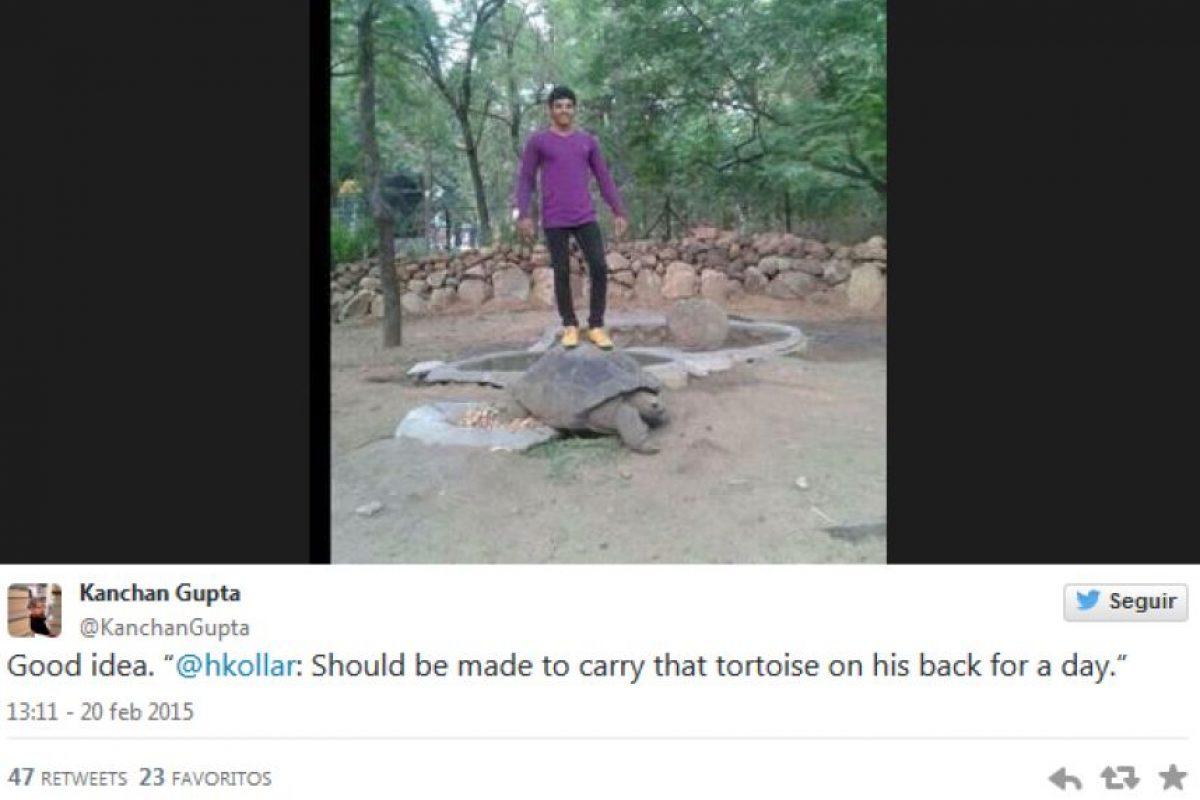 Este tipo de acciones en India son delito. Foto:dailymail.co.uk