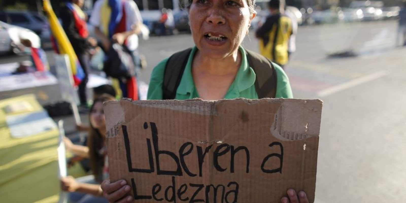 Protestas por la detención de Antonio Ledezma Foto:AP