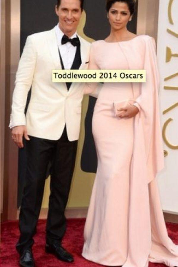 Matthew McConaughey y su esposa Foto:Getty Images