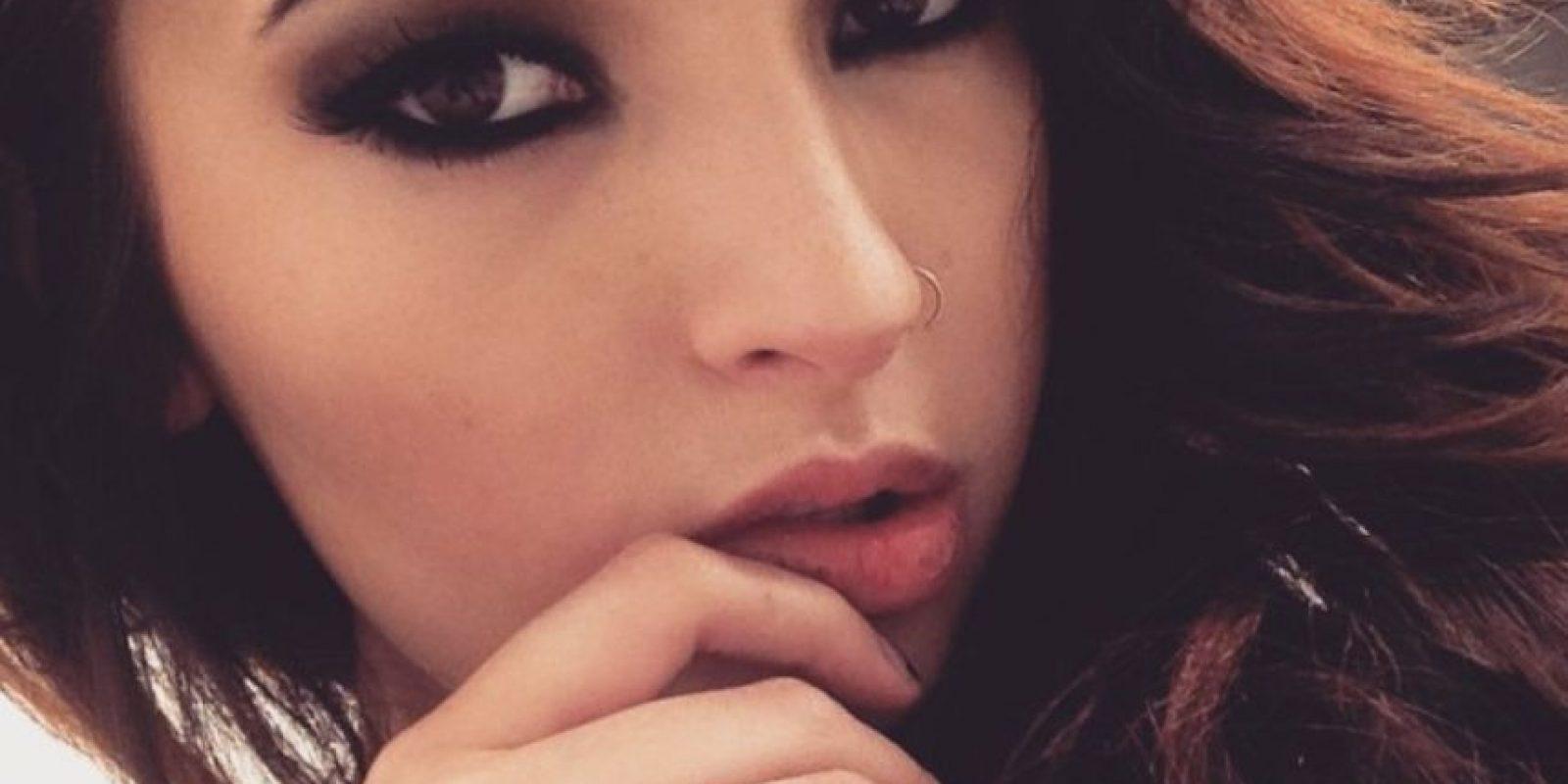 Estudió maquillaje artístico en Canadá. Tiene 24 años. Foto:Laura Sánchez Makeup/Instagram