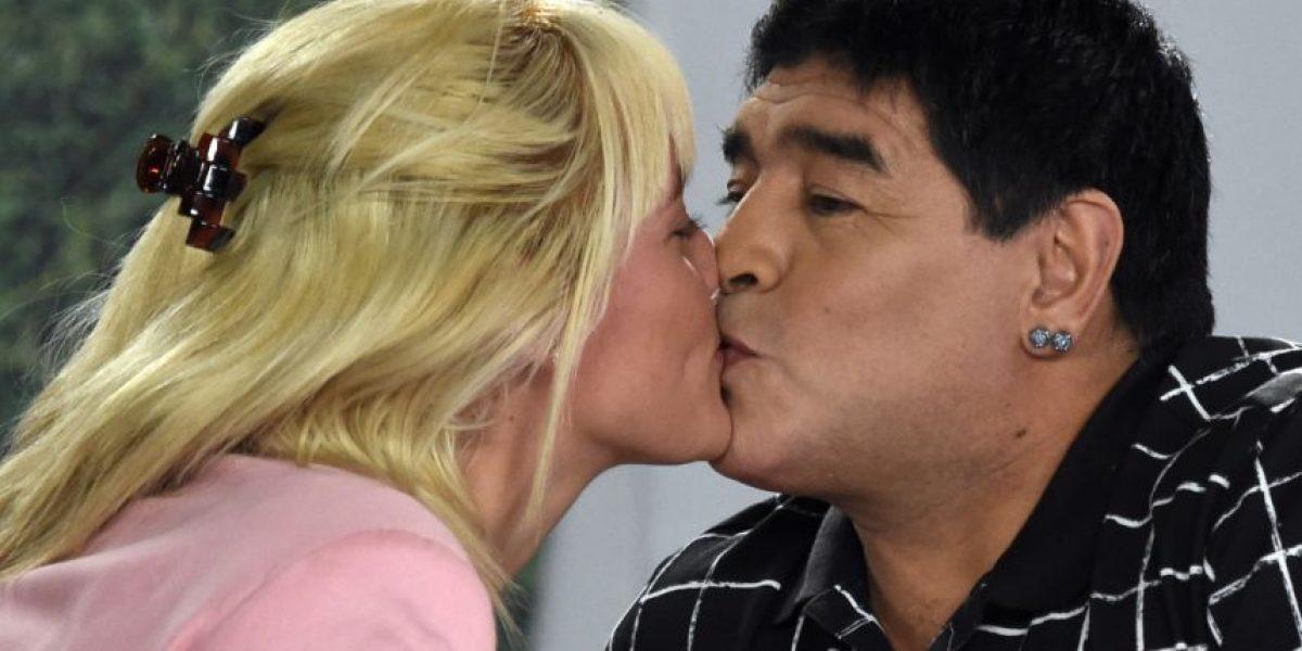 Foto: ¿A lo Kim Kardashian? Estos son los nuevos labios de Maradona