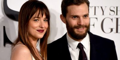 Dakota Jonson y Jamie Dornan Foto: Getty Images