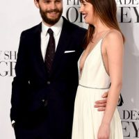 Jamie Dornan y Dakota Johnson Foto: Getty Images