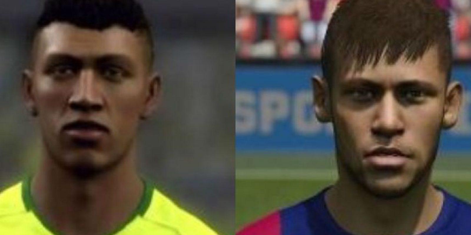 Neymar ha cambio físícamente desde que apareció por primera vez en el FIFA. Foto:twitter.com/BrazilStats – Getty Images