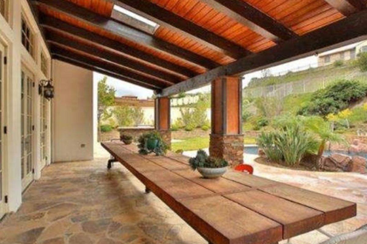 Es una casa de estilo mediterráneo Foto:www.radaronline.com