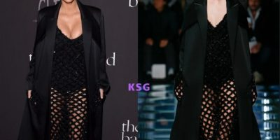 ¿Qué te hizo el difunto Balenciaga (y el famoso Alexander Wang) para que trates sus vestidos de esta manera? Foto:KimStyleGuide/Tumblr