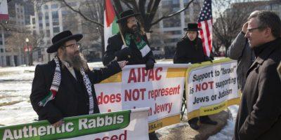 """7. """"Es por esto que es un acuerdo tan malo. No bloquea el camino de Irán hacia la bomba: allana el camino para que Irán consiga la bomba. ¿Por qué alguien querría hacer este acuerdo?"""", declaró el primer ministro israelí en su discurso ante el Congreso. Foto:AFP"""