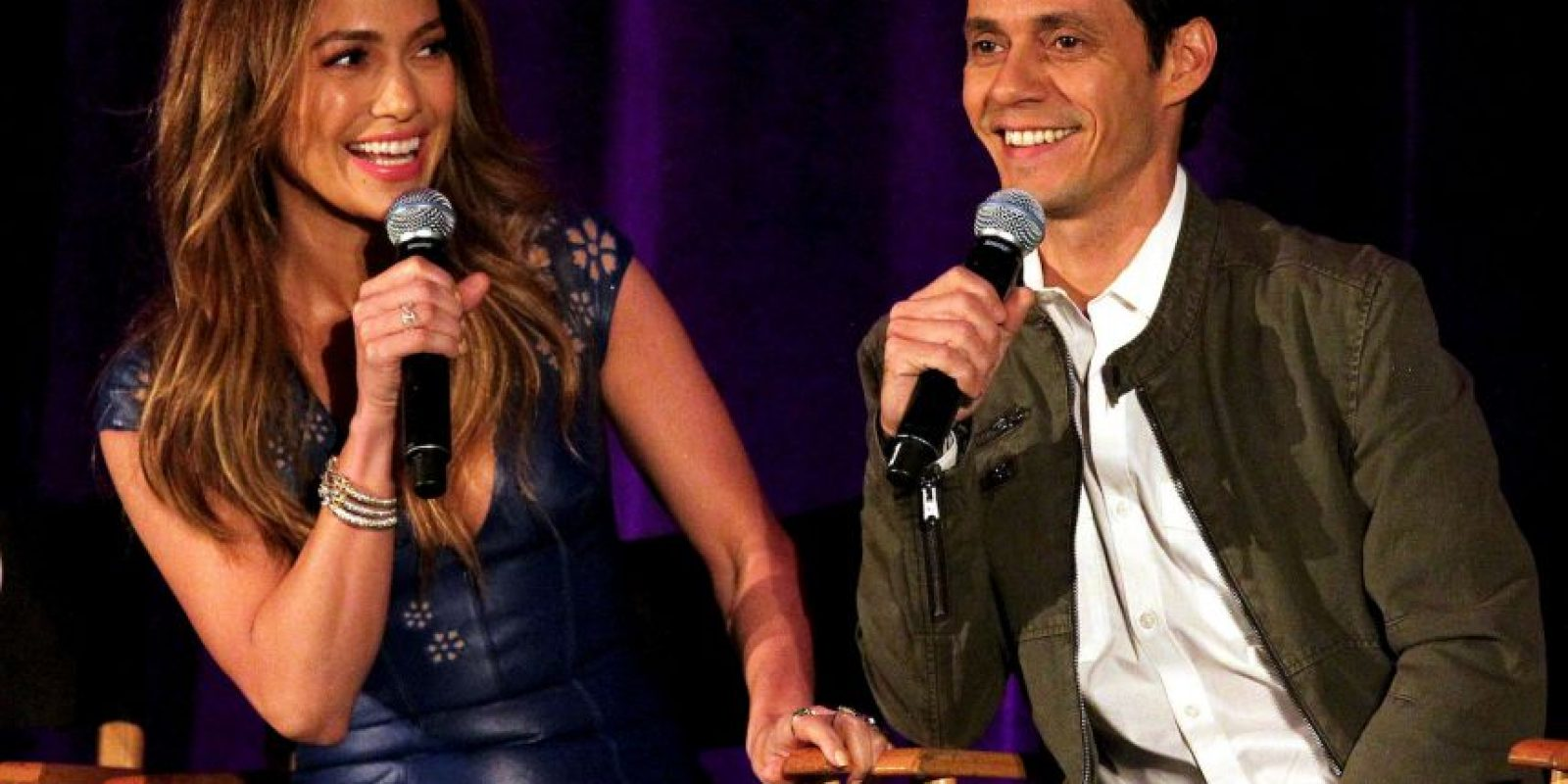Jennifer Lopez junto a Marc Anthony Foto: Getty Images