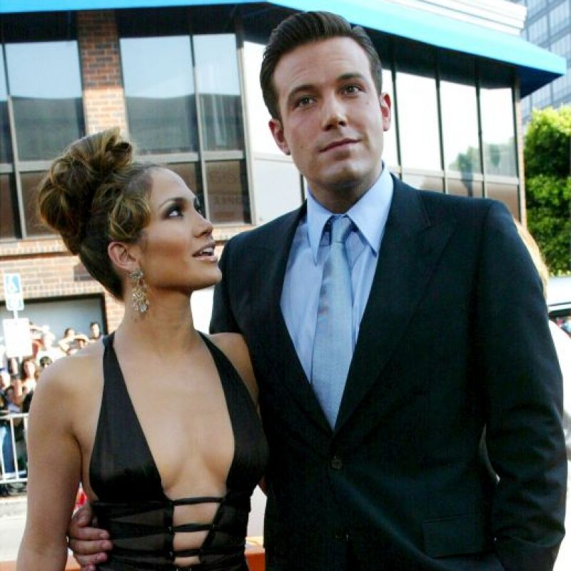 JLo y el actor y director de cine se comprometieron en noviembre de 2002 Foto:Getty Images