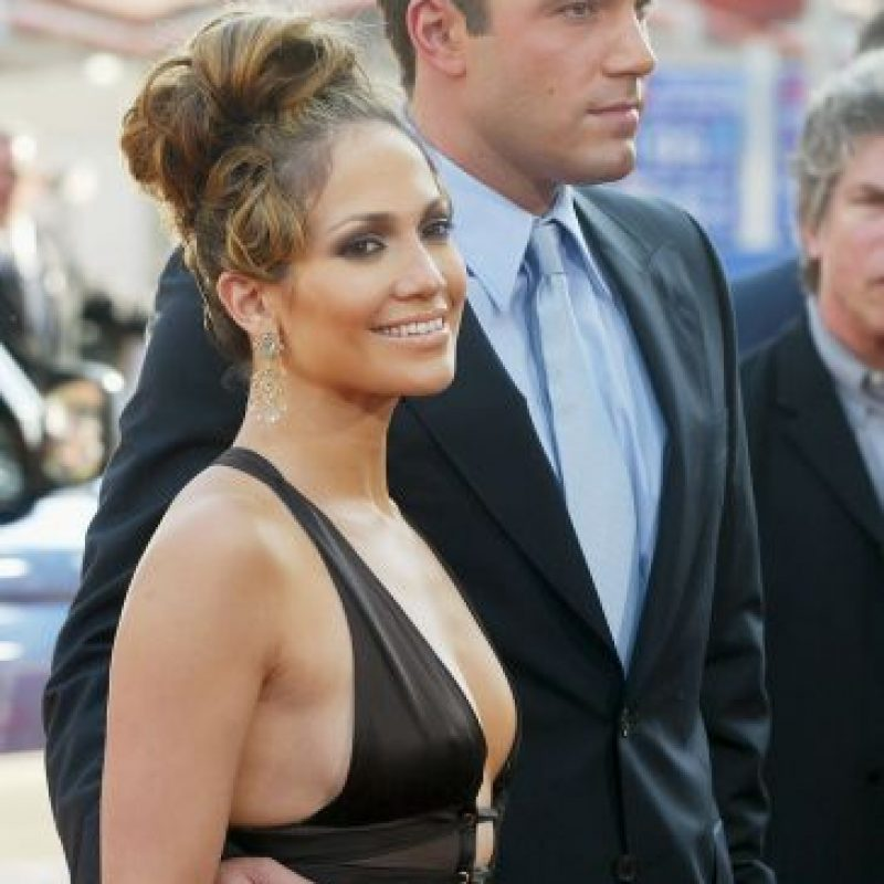 Jennifer Lopez junto a Ben Affleck Foto: Getty Images