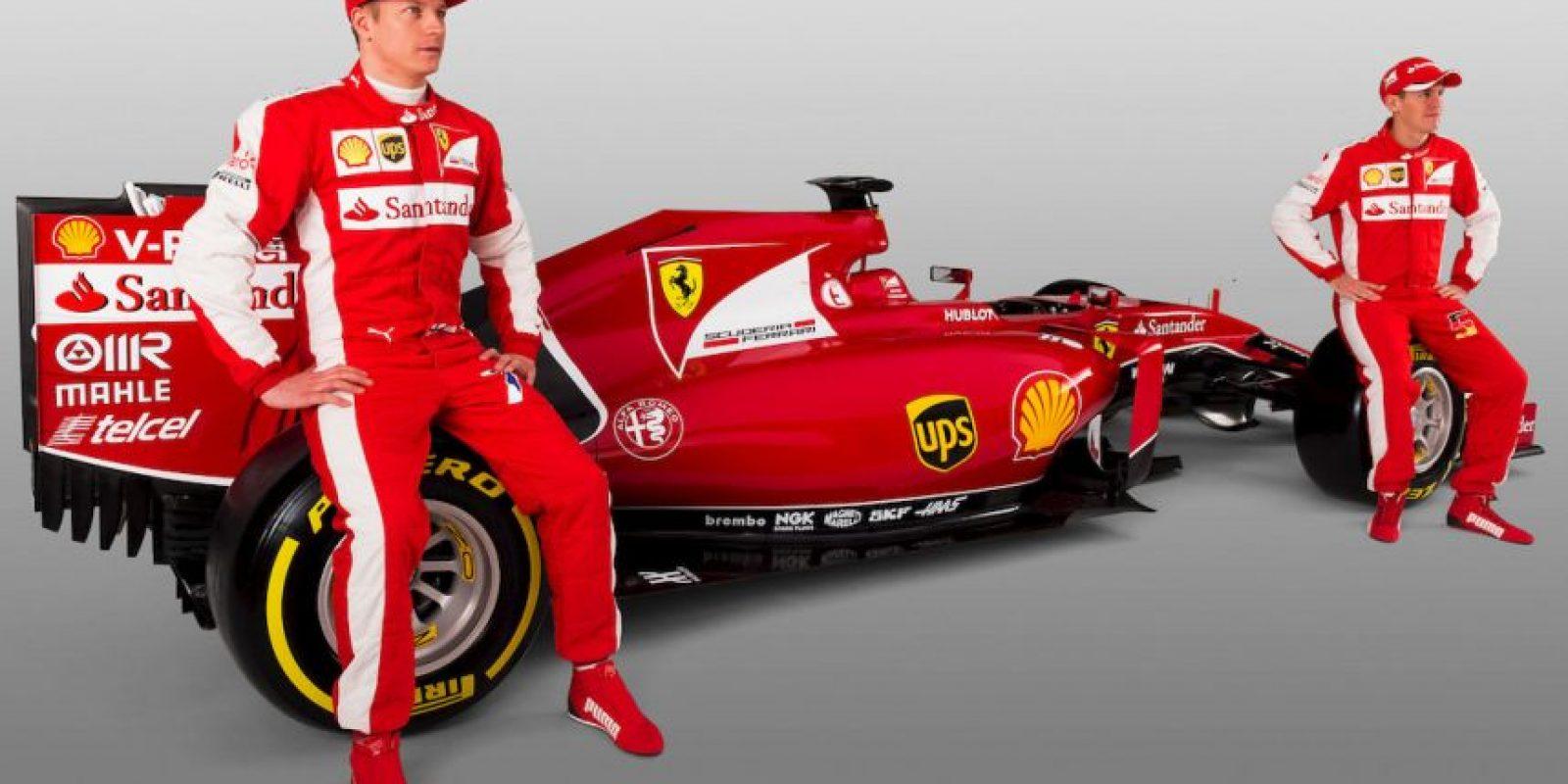 Confían en Sebastian Vettel y Kimi Raikkonen Foto:Getty