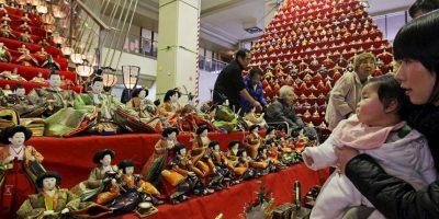 El festival simboliza el deseo de los padres por ver a sus hijas felices. Foto:Getty Images