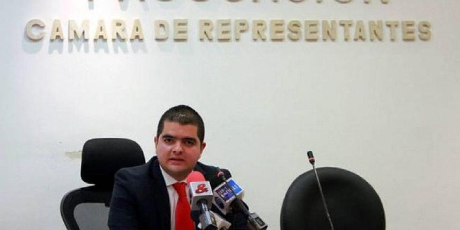 Julián Bedoya, presidente de la Comisión de Acusaciones de la Cámara. Foto:Tomada de www.vanguardia.com.