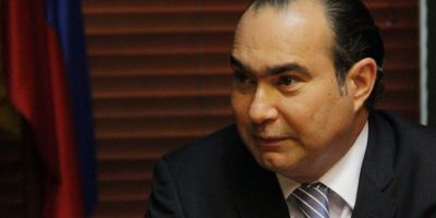 Presidente de la Corte Constitucional, Jorge Pretelt. Foto:Archivo
