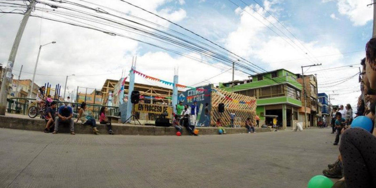 El Centro desde la otra calle Foto:Cortesía Archivo El Tr3bol