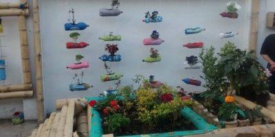 Jadín uno de los tres espacios del proyecto El Trébol Foto:Cortesía Sergio Bustos