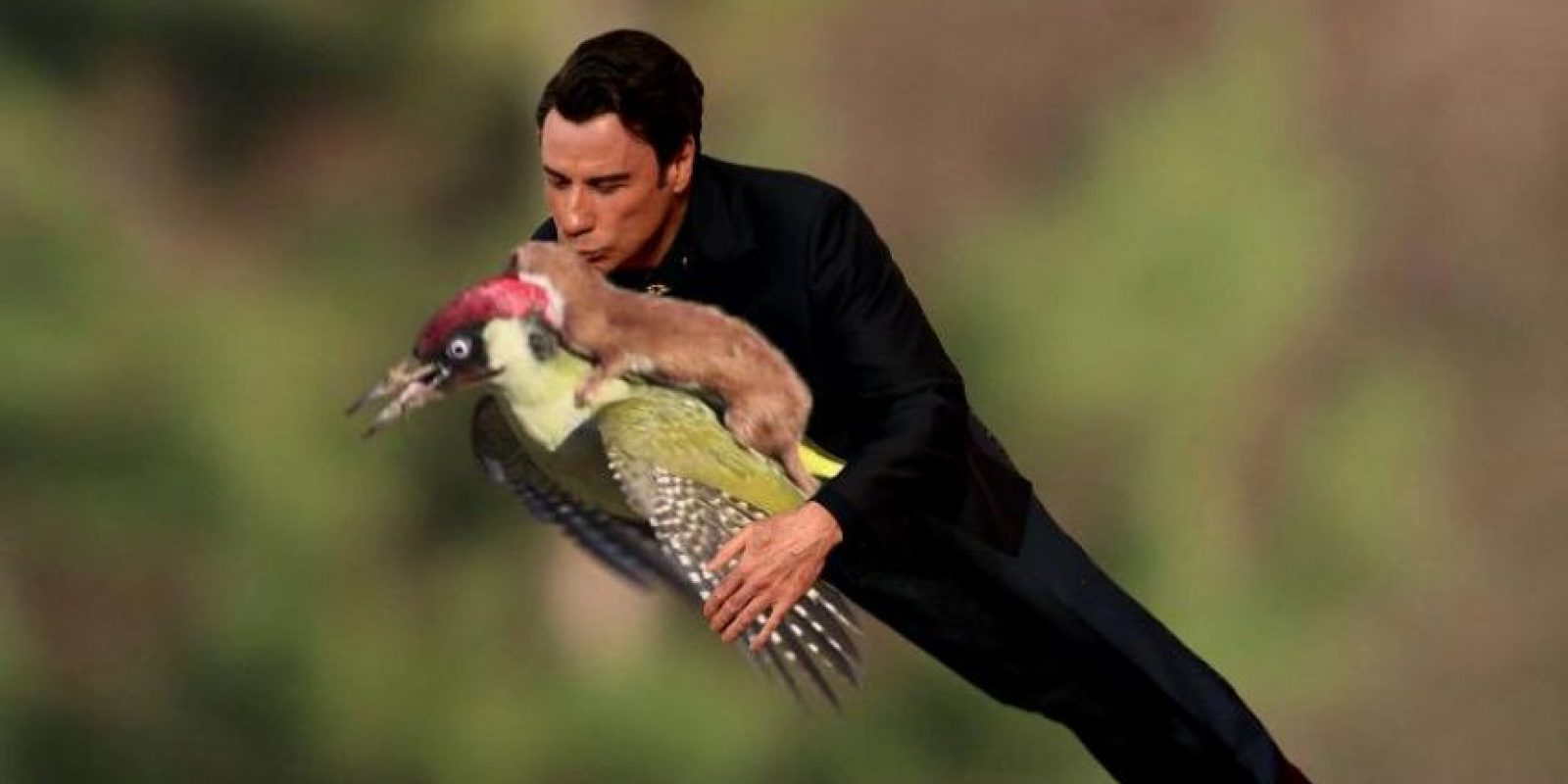 Y de nuevo John Travolta Foto:Twitter