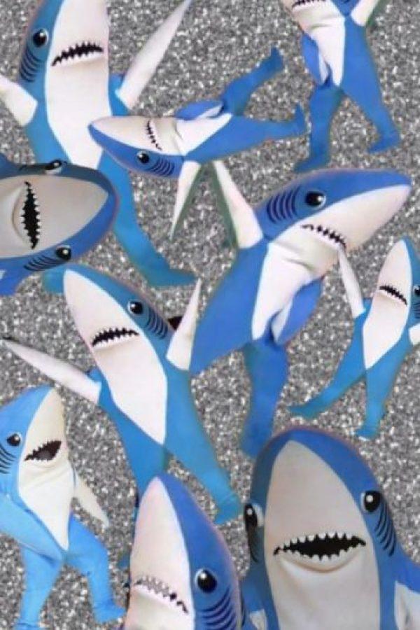 Aunque, según los reportes del sitio CNN, los abogados de Perry señalaron que la cantante no otorgó el permiso para comercializar con la imagen de estos tiburones Foto:Twitter