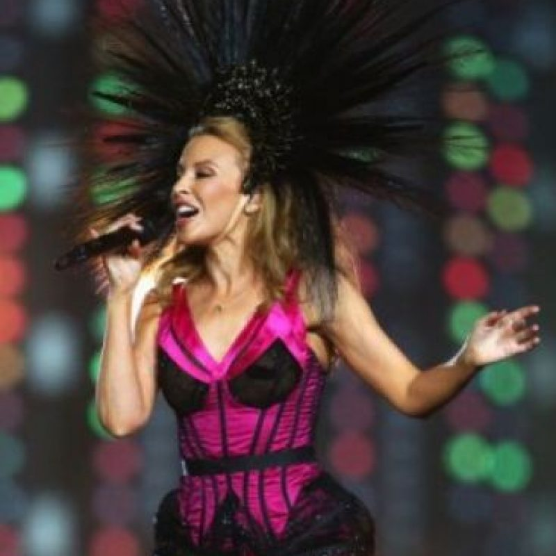 4. Kylie Minogue Foto:Getty Images