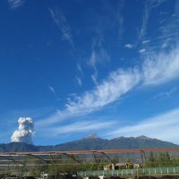 1. Volcán de Colima, México Foto:Instagram mdiegos