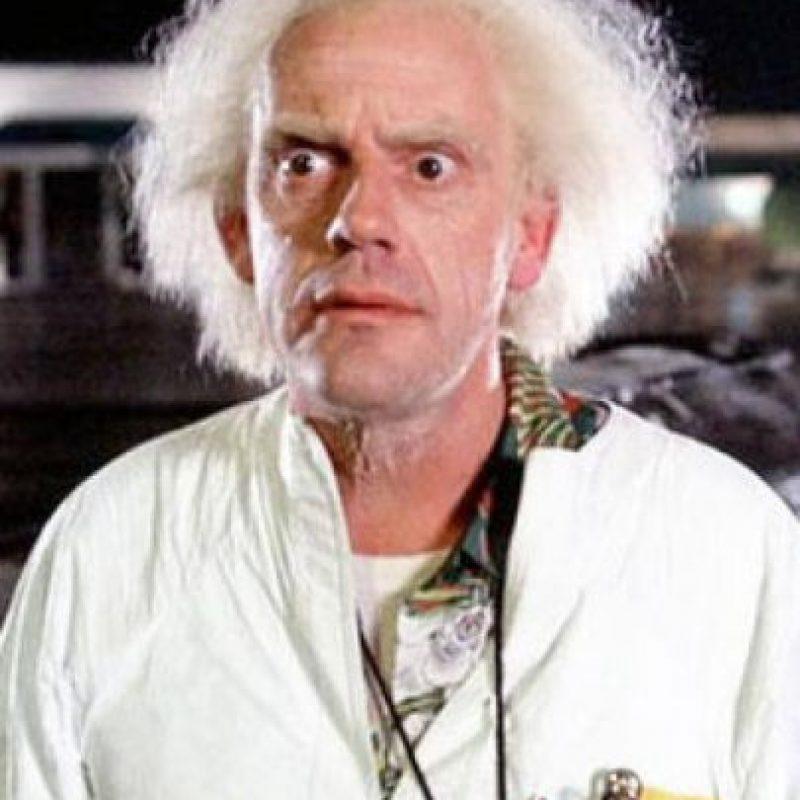 Christopher Lloyd interpretó al Doctor Emmett Brown Foto:Facebook/backtothefuture