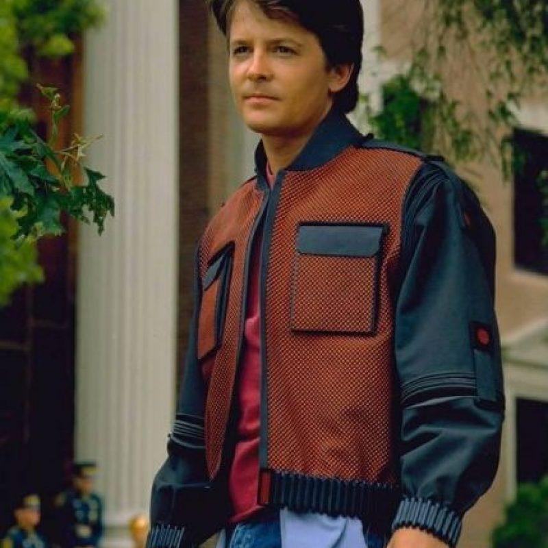 Michael J. Fox interpretó a Marty McFly Foto:Facebook/backtothefuture