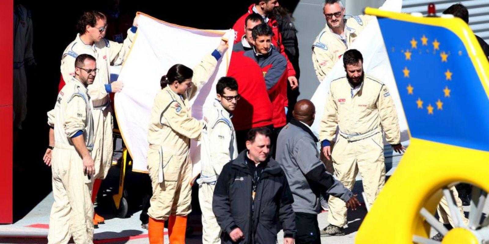 Tuvo un accidente en la pretemporada y se perderá el GP de Australia Foto:Getty