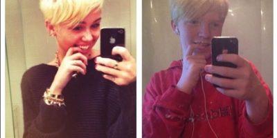"""""""Andrew"""" es un gran fan de Miley Cyrus Foto:Instagram/andrewcrain101"""