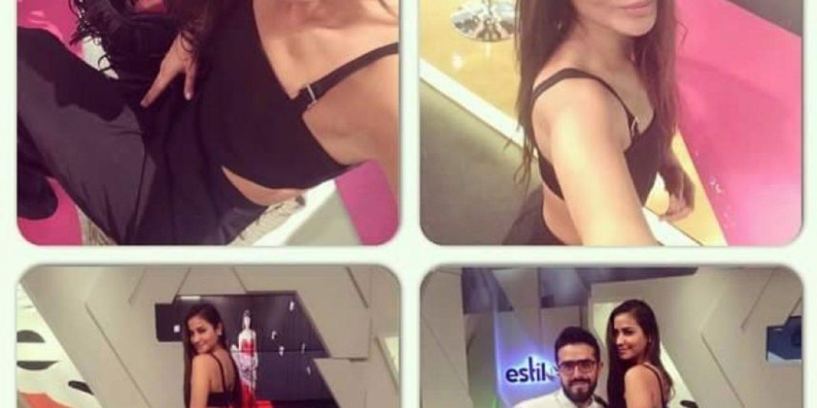 Zahira Benavides es modelo, Virreina de Miss Mundo Colombia 2006 y finalista Chica E, del Canal E. Foto:Facebook