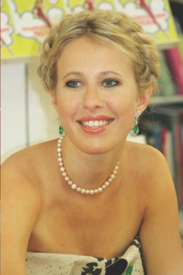 Ksenia Sobchak. Foto:Cortesía.
