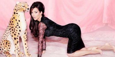 La estrella del reality show E! Keeping Up with the Kardashians es un claro ejemplo de la curvatura. Foto:Vía Instagram: @kimkardashian