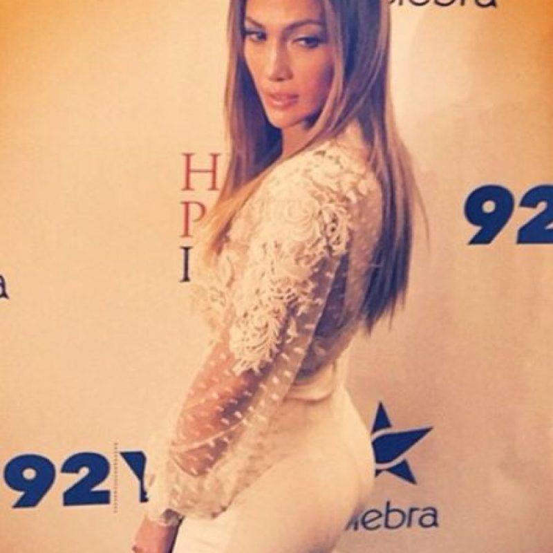 3. La cantante de pop Jennifer López Foto:Vía Instagram: @jlo