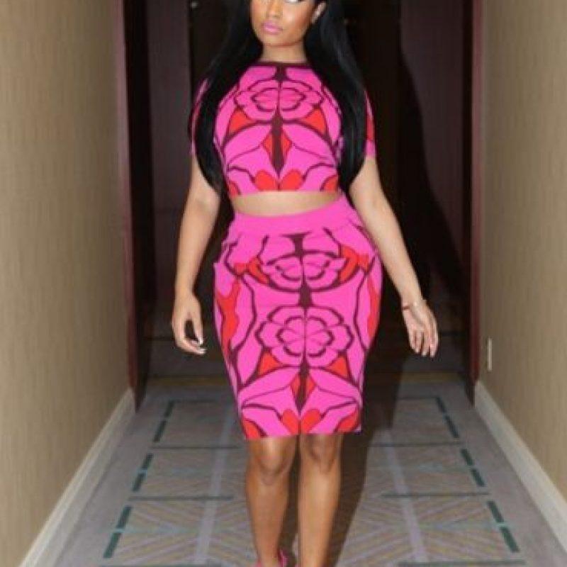 2. La rapera, actriz y compositora Nicki Minaj Foto:Vía Instagram: @NickiMinaj