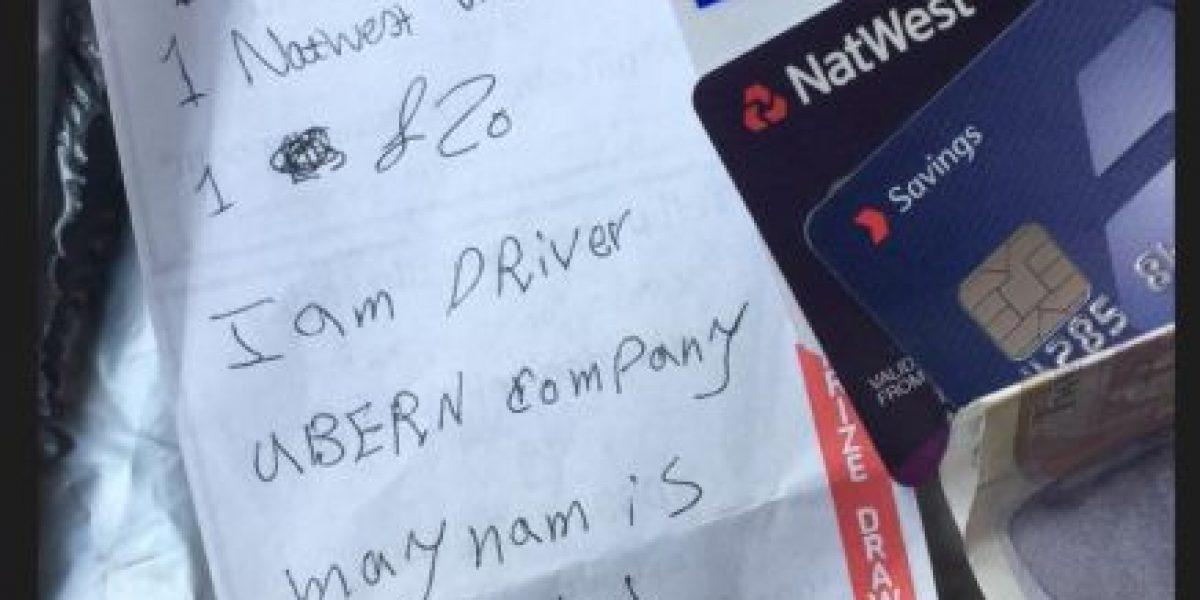 FOTOS: ¡Qué generoso!  No creerán lo que hizo este taxista por una pasajera