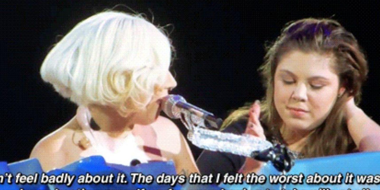 Pero dijo que esto la ayudó a ser una estrella mundial. Foto:Faith in Humanity Restored
