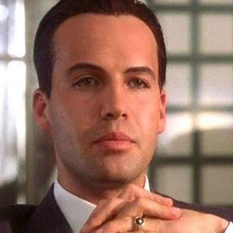 "Caledon Nathan ""Cal"" Hockley. Antagonista arrogante, millonario y pareja de Rose. Foto: 20th Century Fox"