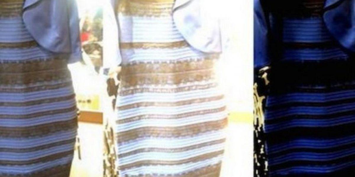 FOTOS: Crean versión blanca y dorada del vestido para subasta