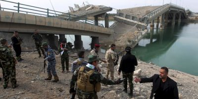 3. Se cree que de ISIS tener dicho material tratará de venderlo. Foto:AFP