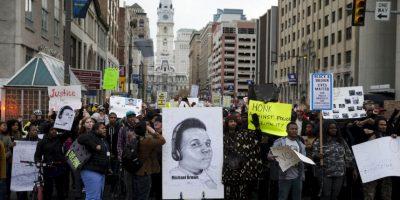 3. La muerte del joven desató las primeras manifestaciones. Foto:Getty