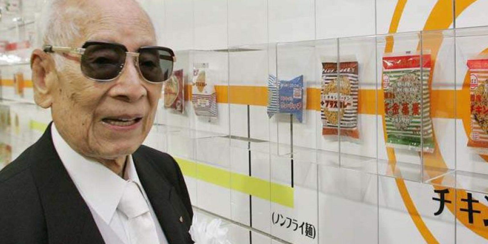 Ando nació el 5 de marzo de 1910 en Taiwán, cuando era un colonia japonesa. Este jueves estaría cumpliendo 105 años. Falleció en enero de 2007 después de una insuficiencia cardíaca. Foto:Reproducción.