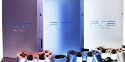 Modelos del PlayStation 2 Slim Foto:SONY