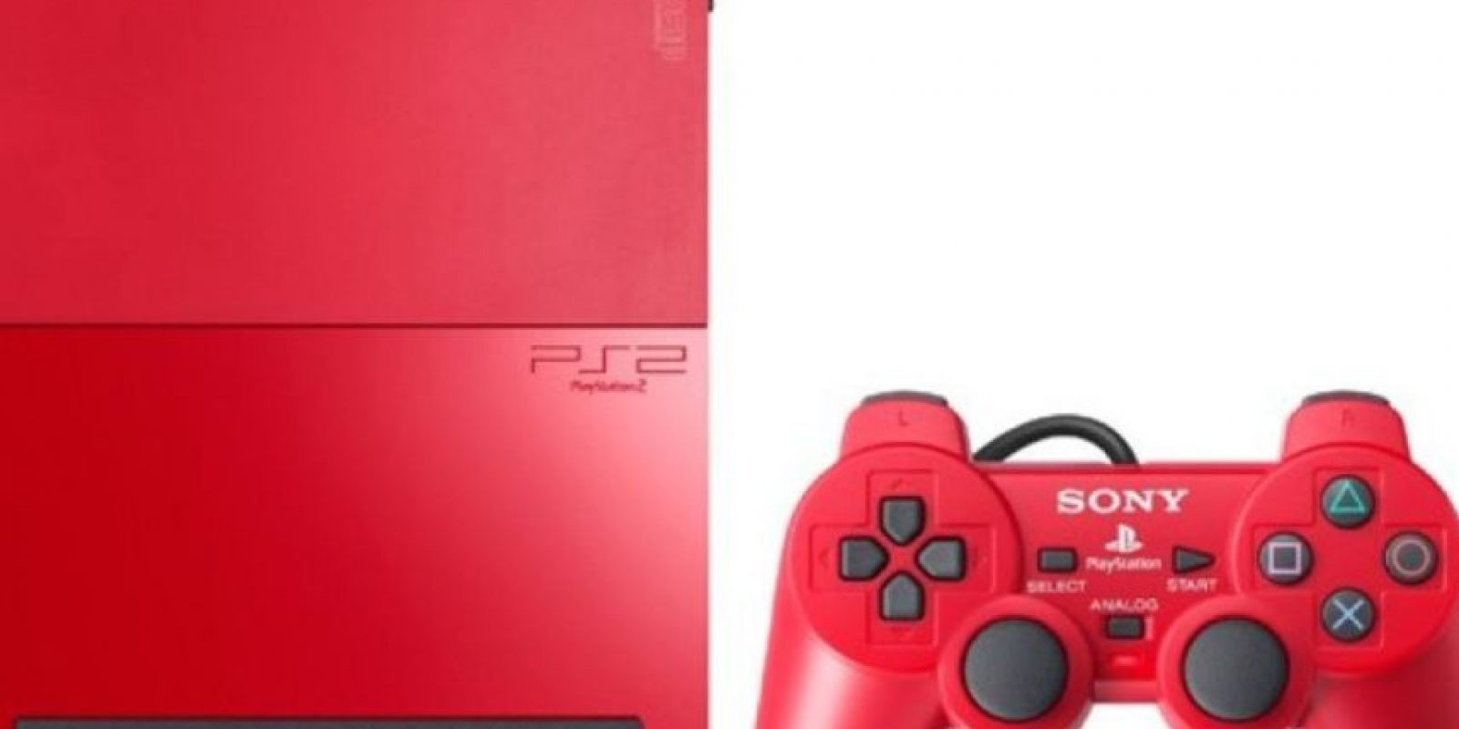 PlayStation 2 Slim rojo Foto: SONY
