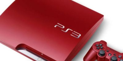 PlayStation 3 Slim rojo Foto: SONY