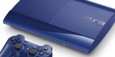 PlayStation 3 Slim azul Foto: SONY