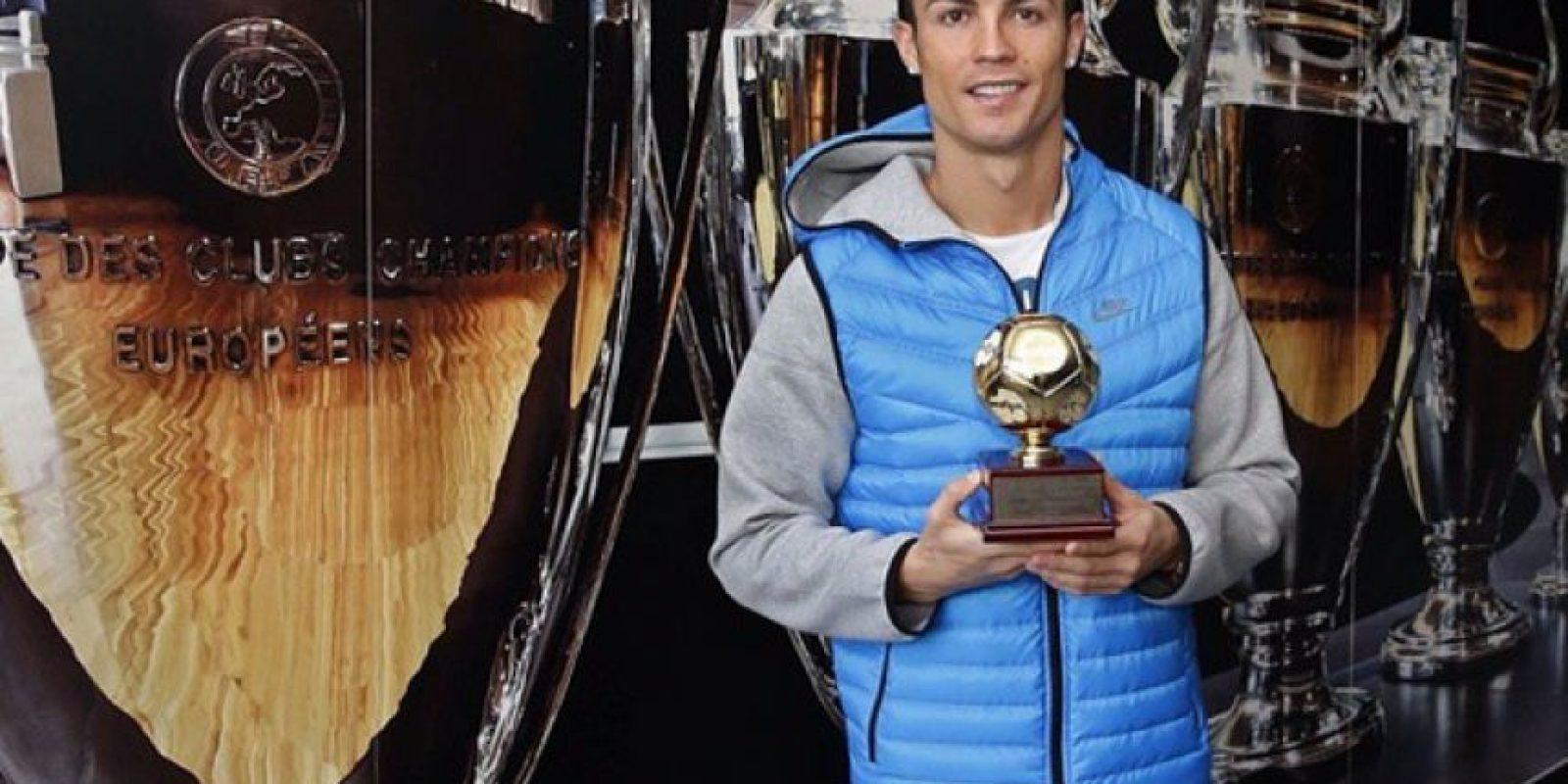 Y sus trofeos Foto:Instagram: @cristiano