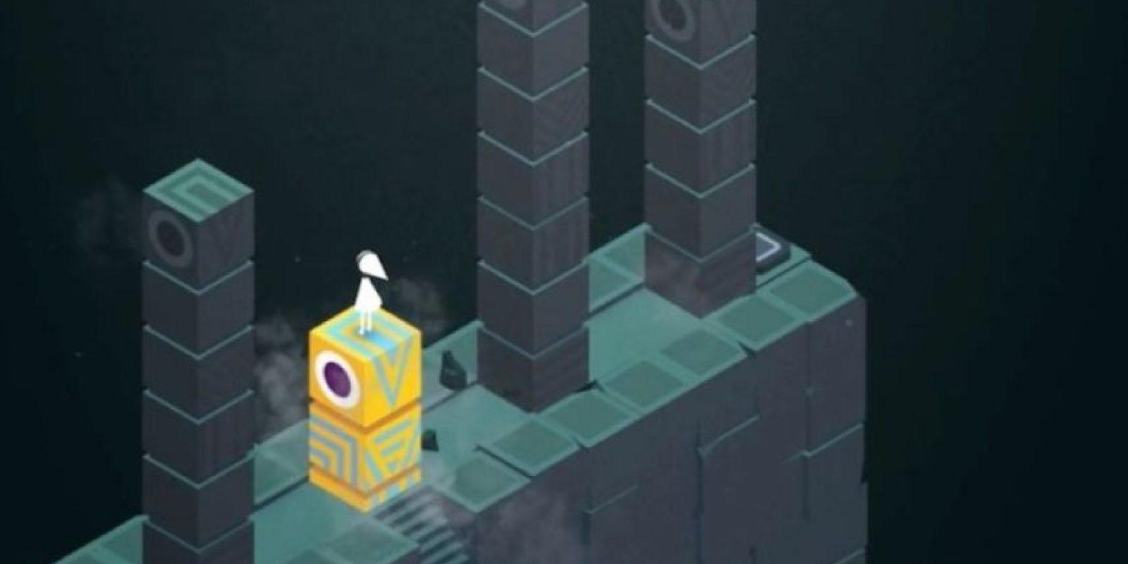 También pueden salir torres del suelo. Foto:ustwo