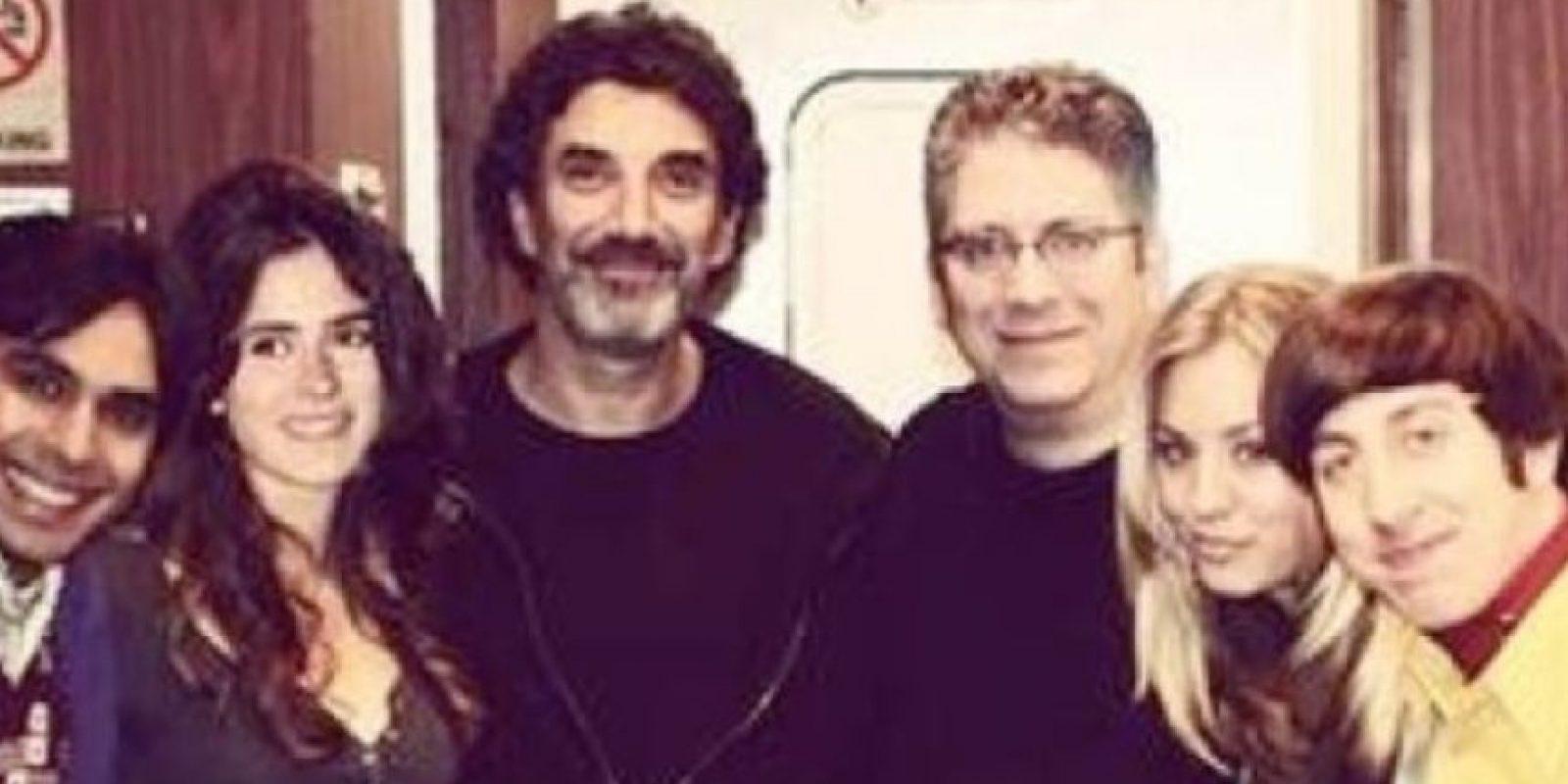 Fuera de eso, puso montajes donde decía que aparecía en The Big Bang Theory y White Collar. Foto:Instagram