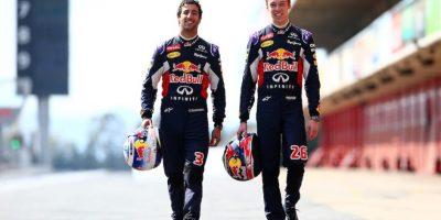 Daniel Ricciardo y Daniil Kvyat son los pilotos de Red Bull para esta temporada. Foto:Getty Images